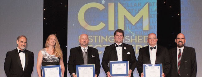 CIM honours the leaders of the Canadian mining industry at CIM 2014 Convention