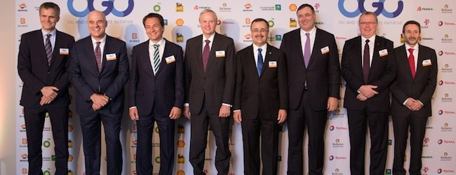 Oil and gas CEOs declare action on climate change