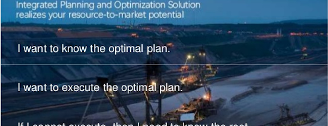 Schneider's Integrated Planning and Optimization Solution