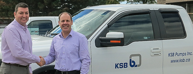 KSB Pumps Expands in Alberta with a new Edmonton office