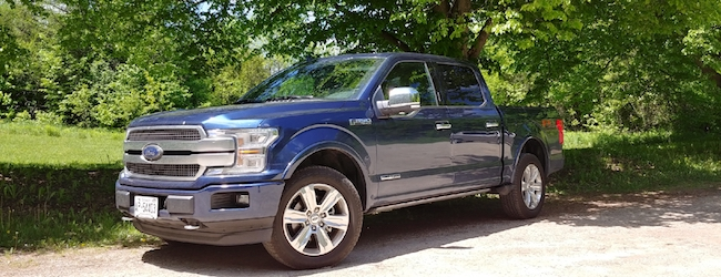Ford F-150 Diesel Built Tough