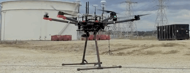 UAVs take on inspections at petroleum refineries, GE Oil & Gas