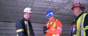 Inspection of an Ontario Salt Mine