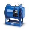 "Coxreels ""exhaust"" spring-driven reels provide necessary ventilation"