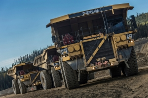 Caterpillar assembles 5000th Cat 793 Mining Dump Truck