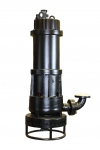 Submersible solids handling pump