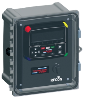 Control panel supports remote pump control and monitoring