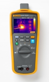 Digital multimeter with thermal camera