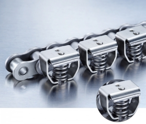 Grip chains for precision feeding, transport and positioning