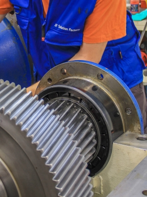 Remanufacturing services for industrial gearboxes